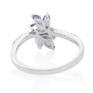 Jewelry - Tanzanite with Cambodian Zircon Ring